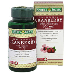 Nature's Bounty Dual Spectrum Cranberry with Hibiscus