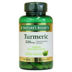 Nature's Bounty Turmeric Standardized