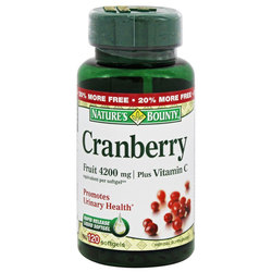 Nature's Bounty Cranberry Plus Vitamin C