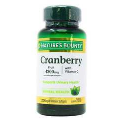 Nature's Bounty Cranberry 4200 mg with Vitamin C
