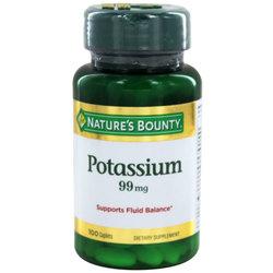 Nature's Bounty Potassium
