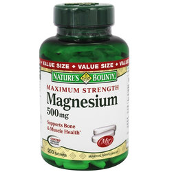 Nature's Bounty Maximum Strength Magnesium