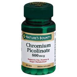Nature's Bounty Mega Chromium Picolinate
