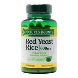 Nature's Bounty Red Yeast Rice