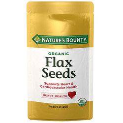 Nature's Bounty Organic Flax Seeds