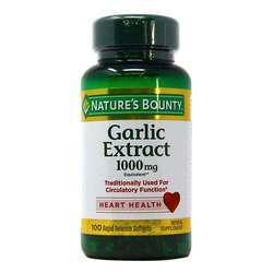 Nature's Bounty Garlic