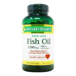 Nature's Bounty Odor-Less Fish Oil