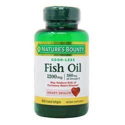 Nature's Bounty Odor-Less Fish Oil