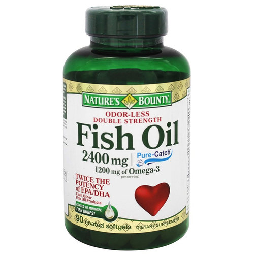 Odor-Less Double Strength Fish Oil