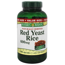 Nature's Bounty Red Yeast Rice