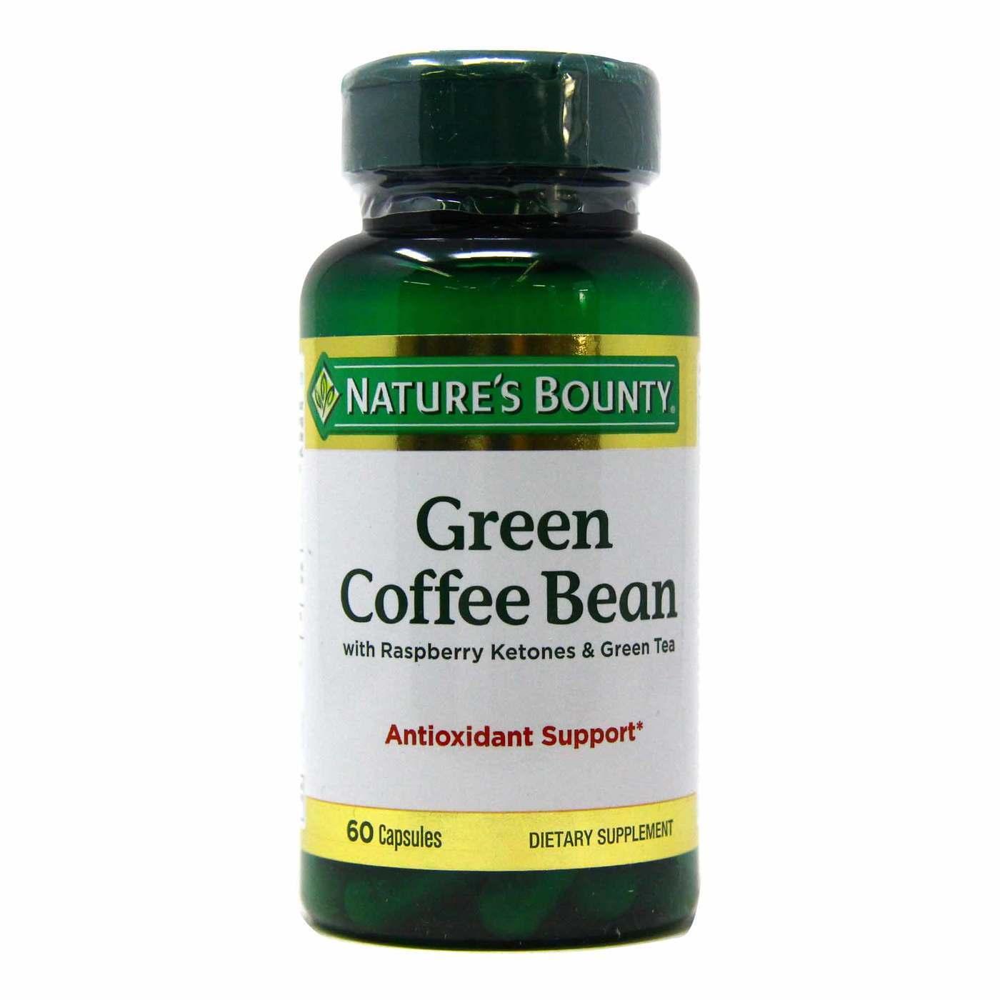 Nature S Bounty Green Coffee Bean 60 Capsules Evitamins Com