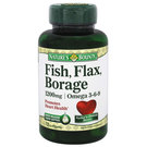Fish- Flax- Borage