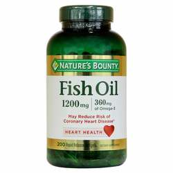 Nature's Bounty Fish Oil