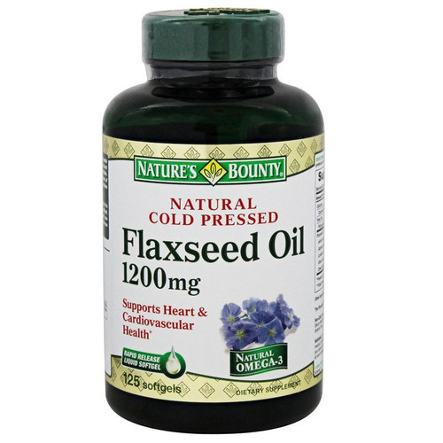 Natural Cold Pressed Flaxseed Oil