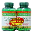 Nature's Bounty Calcium Plus Vitamin D3 Twin Pack