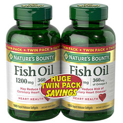Nature's Bounty Fish Oil Twin Pack