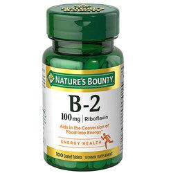 Nature's Bounty Vitamin B-2