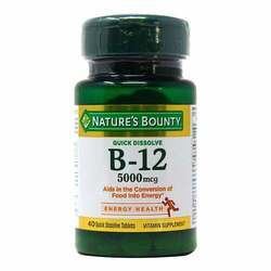 Nature's Bounty Vitamin B-12