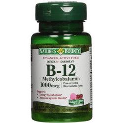 Nature's Bounty B-12