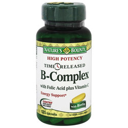 Nature's Bounty High Potency Time Released B Complex
