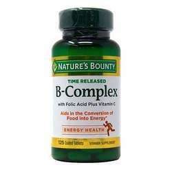 Nature's Bounty Time Released B-Complex