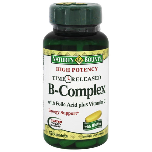High Potency Time Released B Complex