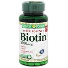 Nature's Bounty Super Potency Biotin