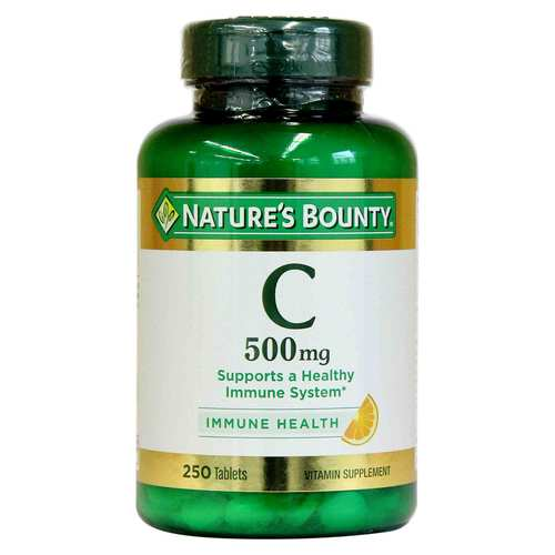 Nature's Bounty Vitamin C - 500 mg - 250 Tablets - 318858_front.jpg