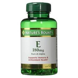 Nature's Bounty Vitamin E - Pure dl-Alpha