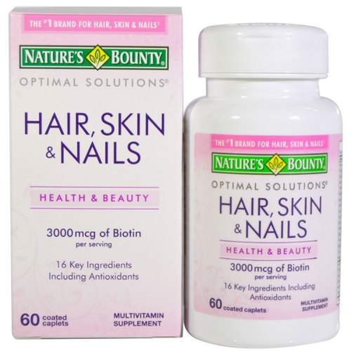 Optimal Solutions Hair- Skin and Nails