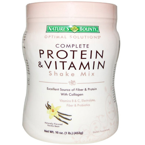 Optimal Solutions Complete Protein  Vitamin Shake Mix