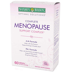 Nature's Bounty Optimal Solutions Complete Menopause Support Complex