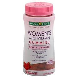 Nature's Bounty Optimal Solutions Women's Multivitamin Gummies