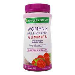 Nature's Bounty Optimal Solutions Women's Multivitamin Gummies
