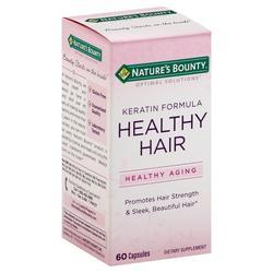 Nature's Bounty Optimal Solutions Healthy Hair Keratin Formula