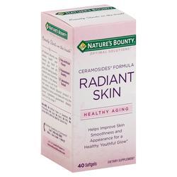 Nature's Bounty Optimal Solutions Radiant Skin Ceramosides Formula