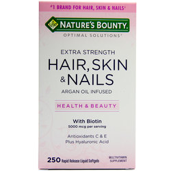 Nature's Bounty Extra Strength Hair- Skin  Nails