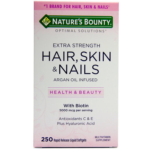 Extra Strength Hair- Skin  Nails