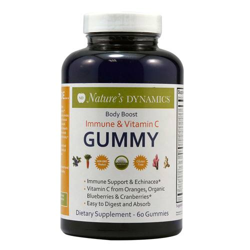 BodyBoost Immune and Vitamin C Gummy