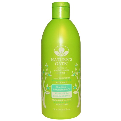 Aloe Vera + Macadamia Oil Moisturizing Vegan Conditioner