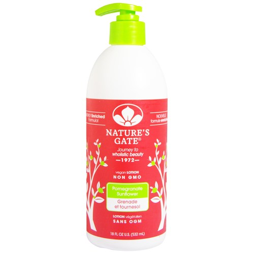 Nature's Gate Lotion Pomegranate Sunflower - 18 fl oz - 29670_a.jpg