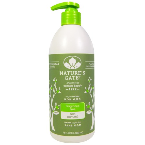 Nature's Gate Lotion Fragrance Free - 18 fl oz - 29673_a.jpg