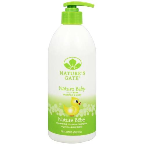 Nature Baby Vegan Shampoo  Wash