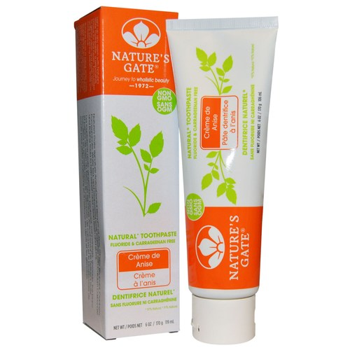 Nature's Gate Natural Toothpaste Creme de Anise - 6 oz - 29701_a.jpg