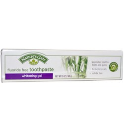 Nature's Gate Whitening Gel Toothpaste