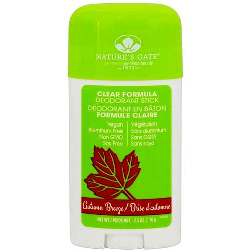 Nature S Gate Clear Formula Deodorant Review
