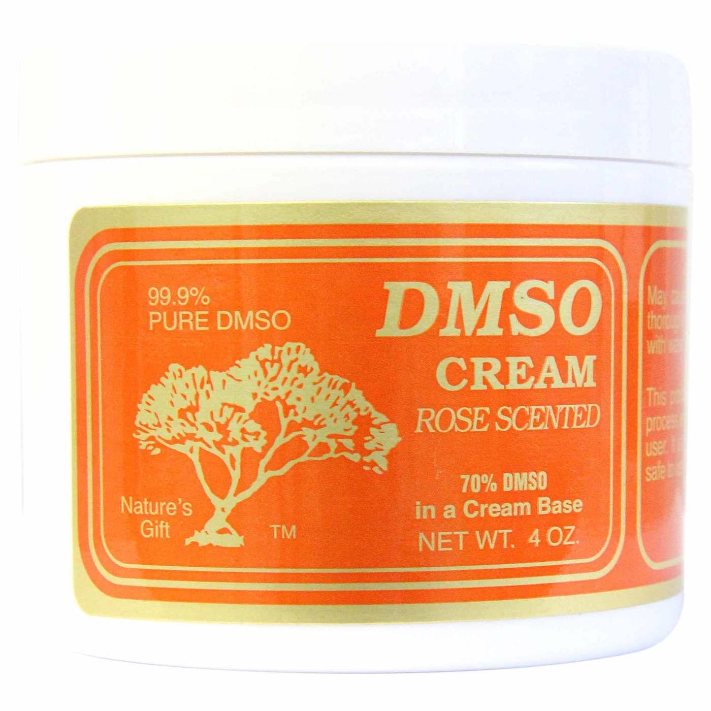 Nature's Gift DMSO Cream Rose - 4 oz