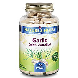 Nature's Herbs Garlic - Odorless