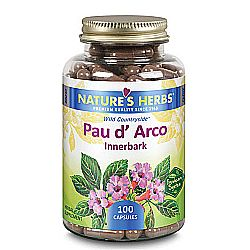 Nature's Herbs Pau D' Arco  - 100 Caps