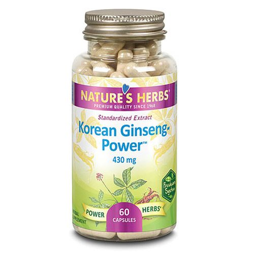 Ginseng Power - Korean 430 mg